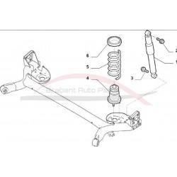 Fiat 500 schokdemper