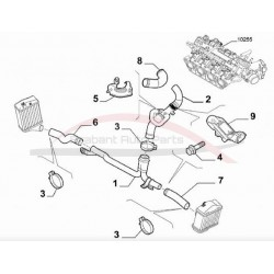 Fiat 500 1.4 16V Abarth 2008-2012 intercoolerslang