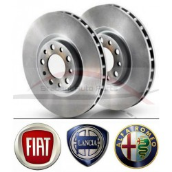 """Fiat Bravo """"07 1.4 remschijvenset vooras"""