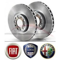 """Fiat Bravo """"07 1.4 110kw / 1.9 JTD / 2.0 JTD remschijvenset vooras"""