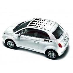 Fiat 500 decoratie sticker bal