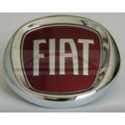 Fiat Seicento embleem met schroefdraad motorkap