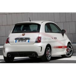Fiat 500 dakspoiler