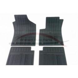 Fiat 500 mattenset rubber