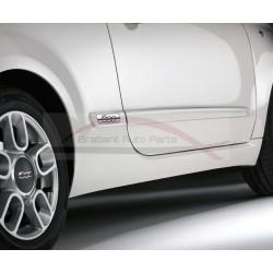 Fiat 500 embleem t.b.v. stootlijst