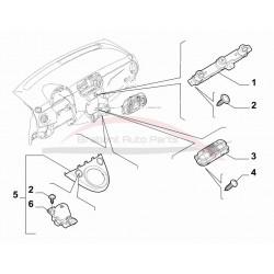Fiat 500 0.9 Twinair schakelpaneel dashboard