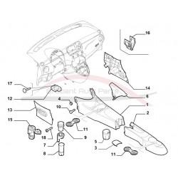 Fiat 500 ring t.b.v. sigarettenaansteker
