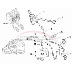 Fiat 500 2007-2012 remleiding