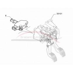 Fiat 500 1.2 met start stop vanaf 2012 schakelaar koppeling