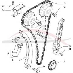 Alfa Brera 2.2 JTS distributiespanner gemodificeerd