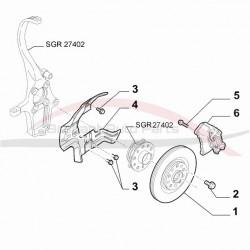 Alfa Brera 2.2 JTS remschijvenset vooras