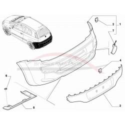 Fiat Punto EVO achterbumper