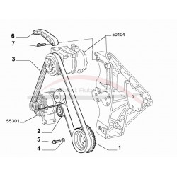 Fiat 500 1.2 8V met airco multiriem