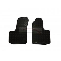 Fiat Doblo mattenset rubber