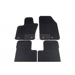 Fiat 500 X mattenset rubber