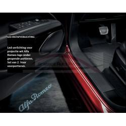 Alfa Romeo Stelvio led instapverlichting