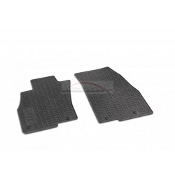 Alfa MiTo vloermatten rubber met MiTo logo