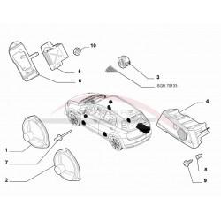 Fiat Grande Punto / Punt EVO subwoofer