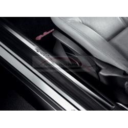 Alfa GT dorpellijsten aluminium