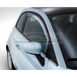 Fiat Qubo windgeleiderset voorportieren
