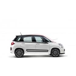 Fiat 500L raamlijststicker zwart