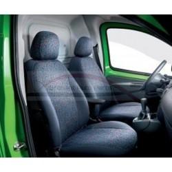 Fiat Fiorino en Fiat Qubo stoelhoezenset voorstoelen
