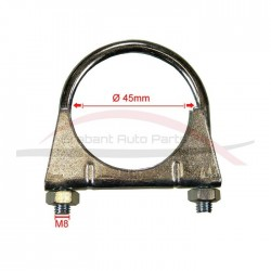 Fiat Punto 1.2 uitvoeringen klem uitlaatdemper