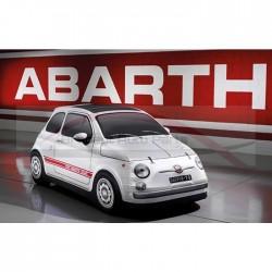 Fiat 500 Abarth, carcover Abarth vintage binnen gebruik