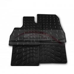 Fiat 500L mattenset rubber met 500 logo