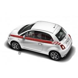 Fiat 500/500c sportstriping voor taillelijn