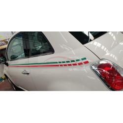 Fiat 500 stripingset