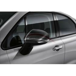 Fiat 500 X spiegelkapset carbon
