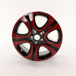 Fiat 500X velg 18 inch set bicolore rood