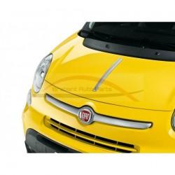 Fiat 500L sierlijst op motorkap chroom