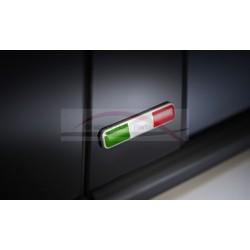 Fiat embleemset voor deurstijl Italiaanse vlag