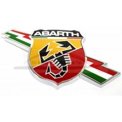 Fiat 124 Spider Abarth embleem zijkant