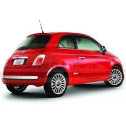 Fiat 500 vanaf 2007 sierlijst achterbumper chroom