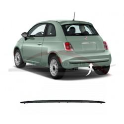 Fiat 500 2007-2012 sierlijst achterbumper zwart