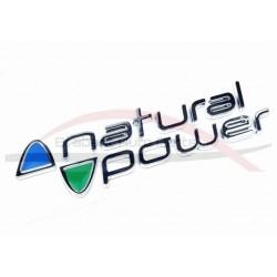 Fiat Ducato embleem Natural Power