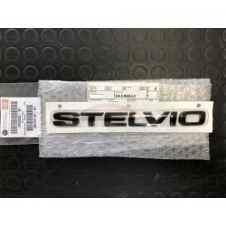 Alfa Romeo Stelvio embleem Stelvio B-Tech achterzijde zwart