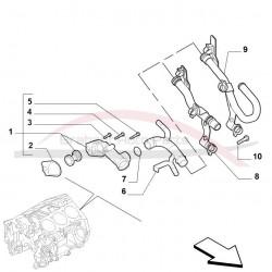 Alfa Brera 3.2 V6 thermostaat