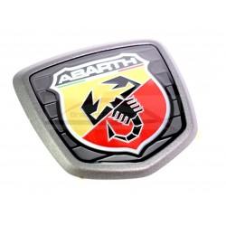 Fiat 500/ Abarth 500, Abarth Competizione embleem achterzijde mat grijs