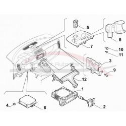 Fiat poort 68R voor dashboard