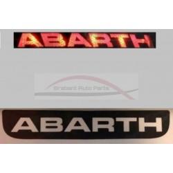 Abarth 500 hatchback 3-e remlicht sticker