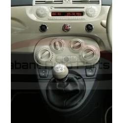 Fiat 500 S/ GT uitvoeringen 2012-2015, pookknop mocca