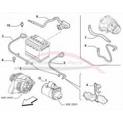 Fiat 500 accu controle unit (start stop)