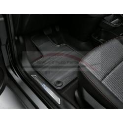 Fiat 500E mattenset rubber