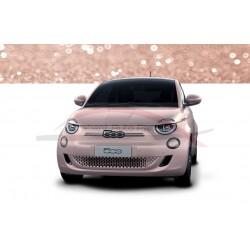 Fiat 500E spiegelkappen messing look