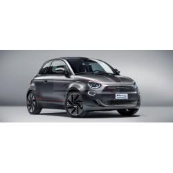 Fiat 500E spiegelkappen mat grijs