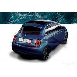 Fiat 500E 500 embleem zijraam achter